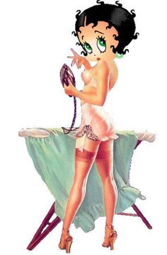 Love the old stockings and garter belts. GOTTA LOVE Betty Boop!!!!!