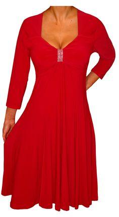 f3b836eba4a Funfash Plus Size Dress Apple Red Empire Waist Women s Cocktail Dress –  FunFash Apple Dress