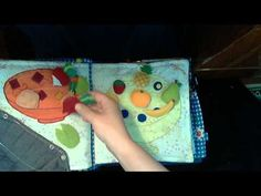 Lady bug and Caterpillar are great ideas. Развивающая книжка №2 / Quiet book #2 - YouTube