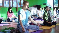 Meditation Class in Morning time in Rishikesh