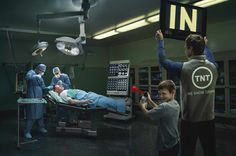 "TNT: Operating room. ""We know Drama."""