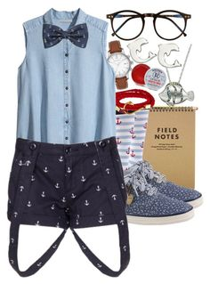"""Young Marine Biologist"" by razziieyy ❤ liked on Polyvore featuring Sock It To Me, Keds, Burberry, H&M, INC International Concepts, Wildfox, Rosebud Perfume Co. and Reeds Jewelers"