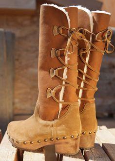 SALE -50% / Clogs-Boots Fell braun: XUZ, Portugal