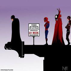 Marvel - Batman - Image geek de film et serie tv