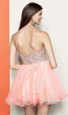 2015 Homecoming Dresses A Line Sweetheart Short/Mini Ruffles Empire Beadings&Sequins Tulle http://www.ikmdresses.com/2014-Homecoming-Dresses-A-Line-Sweetheart-Short-Mini-Ruffles-Empire-Beadings-amp-Sequins-Tulle-p80961