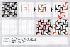 #Swags #zentangle #perfectly4med