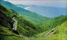 The winding mountain road, Great Otway National Park - Victoria (162 km southwest of Melbourne)