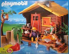 playmobil boshuis met poppetjes,dieren,vijver&accessoires