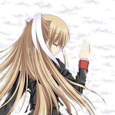 Tokido Saya, from Little Busters EX. Possibly the strongest character in the whole series, perhaps even stronger than Kyousuke himself. A pity she was never properly recognised by the rest of the Little Busters.