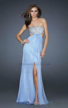 Sequin Side Split Long Prom Light Blue Dresses for Sale 2013 http://www.hotpromdresses2013.com