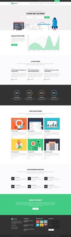 Optimzie WordPress theme is the best website option for every SEO businesses.  #wordpress #theme #webdesign #design #seo #marketing #digitalmarketing #marketingagency #startup #hosting #socialmedia #interactive #analytics #infographic