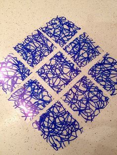 #6 plastic into Shrinky Dink Jewelry - Step 2 by nosmallfeet, via Flickr