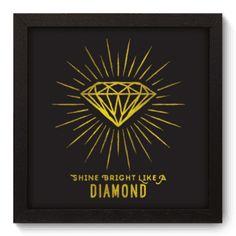 Quadro Decorativo - Diamond - 039qdr