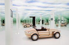 Setsuna By Naohiko Mitsui for Toyota. Milano Design Week 2016 Via Tortona 31, MIlan www.milanospacemakers.com