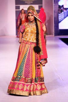 real bride in Ritu Kumar 2013