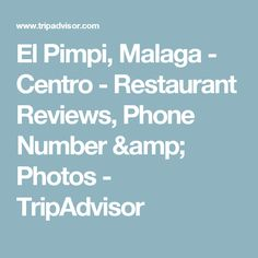 El Pimpi, Malaga - Centro - Restaurant Reviews, Phone Number & Photos - TripAdvisor