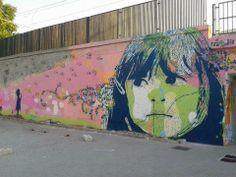 Street art in Lecce, Italy by CHEKOS ART #chekosart #italy #streetart