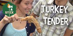Turkey Tender - http://onastickpodcast.com/turkey-tender/?utm_source=Pinterest&utm_medium=On+A+Stick+Pinterest&utm_campaign=SNAP%2Bfrom%2BOn+A+Stick
