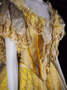 Broadway Belle Beauty and the Beast Gown via Amiee Major