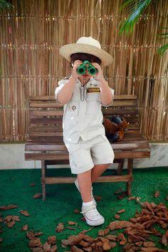 souvenir binoculares. Look safari