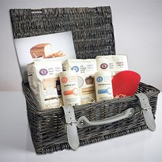 Gluten Free Baking Hamper | Doves Farm Ibs Relief, Gluten Free Baking, Starter Kit, Hamper, Dairy Free, Basket, Low Fodmap, Gifts, Board