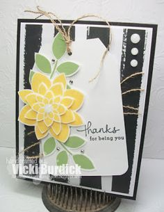 It's a Stamp Thing - SU - Endless Thanks & Crazy about You stamp sets