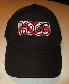 "Arkansas Razorbacks ""Hogs"" Hat (black)"