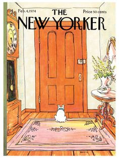 New Yorker Cover - 2/4/1974 by Conde Nast Store at Gilt- George Booth