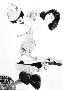 Remedios Varo - Cadavre exquis (1935)