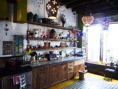 Sybil & Dan's Colorful Global Kitchen — Kitchen Spotlight