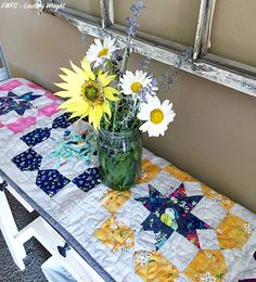 Gigi Blooms Table Runner | Fort Worth Fabric Studio | Bloglovin'