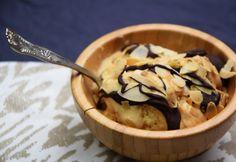 Sós karamellás fagylalt Snack Recipes, Snacks, Chips, Ice Cream, Pudding, Dishes, Eat, Breakfast, Food