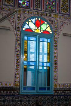 Window, En Habbalim Synagogue, Sefrou
