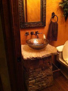 Small Bathroom                                                       Photo by CS Lent  10/2013