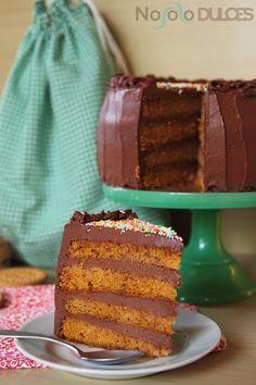 No solo dulces - Tarta de chocolate y galletas 2.0 - Chocolate and cookies cake