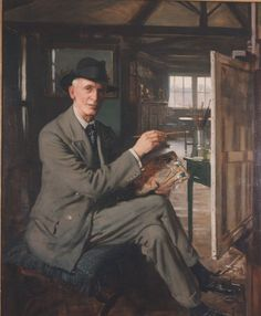 Frederick William Elwell. Part 1. The early days. | my daily art ... my daily art display - WordPress.com605 × 735Buscar por imagen Self Portrait by Fred Elwell (1933)
