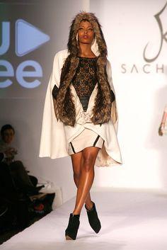 Eva Marcille - Sachika - Runway - 2012 Style360 Blackwomeninboots.blogspot.com