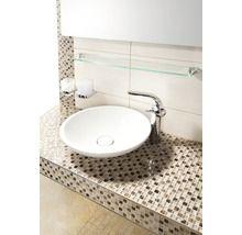 Aufsatz-Waschtisch Villeroy & Boch Loop rund flach 43cm weiß und weitere Sortimente aus dem Bereich Waschtische. Jetzt informieren über Preise und Verfügbarkeit im HORNBACH Markt.