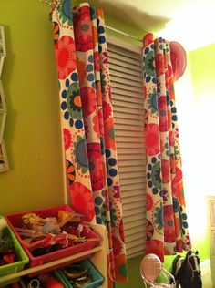 How I made no-sew curtains for my daughter's room – Simply Stated Blogs   Real Simple
