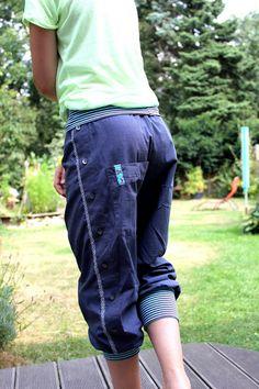 tillaBox: Pumphose aus altem Herrenshirt