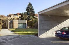 House Blansko | CZE Studios, Garage Doors, Houses, Outdoor Decor, Home Decor, Homes, Decoration Home, Room Decor, Interior Design