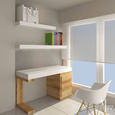 Mesa Home Office, Home Office Design, House Design, Study Table Designs, Study Room Design, Bedroom Red, Childrens Room Decor, My Room, Sweet Home