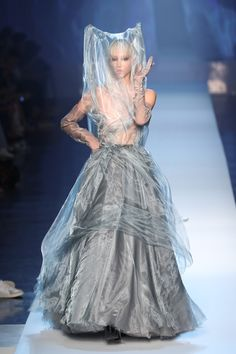 Jean Paul Gaultier, Vogue Online, Sparkles Glitter, Jeans, Couture, Tattoos, Dresses, Style, Fashion