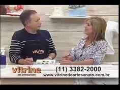 Pintura em Tecido Molhado com Luis Moreira - Vitrine do Artesanato na TV