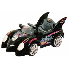 Every kid loves Batman. Spark their imagination as they drive along your neighborhood with his own Batman Batmobile! Give them that superhero feel that they always dreamed of. Complete with all the stickers and emblems. And that Bat Wing style! This toy car operates on a 12-volt battery and cruises at a speed of up to 3 - 4 mph. Now that's what you call a real fun driving experience!