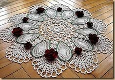 CROCHET PATTERNS FOR DOILIES - 3
