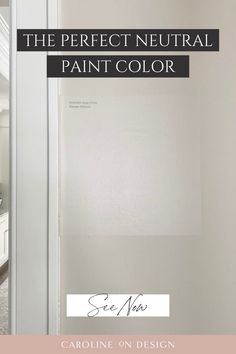 Are you looking for the perfect neutral paint color for your walls? If so, you're going to love this blog post all about Accessible Beige. My favorite beige in a home! Exterior Paint Colors, Paint Colors For Home, House Colors, Neutral Bedrooms, Bedroom Colors, Bedroom Decor, Accessible Beige, Best Interior Paint, Neutral Paint