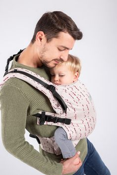 ISARA The Trendsetter Creamy code adjustable carrier toddler Research And Development, Morse Code, Babywearing, Burgundy, Arms, Coding, Cream, Fit, Collection