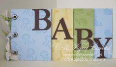 Baby Chipboard Album