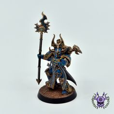 Thousand sons (Tzeentch) - Sorcerer #ChaoticColors #commissionpainting #paintingcommission #painting #miniatures #paintingminiatures #wargaming #Miniaturepainting #Tabletopgames #Wargaming #Scalemodel #Miniatures #art #creative #photooftheday #hobby #paintingwarhammer #Warhammerpainting #warhammer #wh #gamesworkshop #gw #Warhammer40k #Warhammer40000 #Wh40k #40K #chaos #warhammerchaos #warhammer40k #tzeentch #thousandsons #Sorcerer Thousand Sons, Warhammer 40000, Tabletop Games, Gw, Miniatures, Change, Fantasy, Creative, Painting